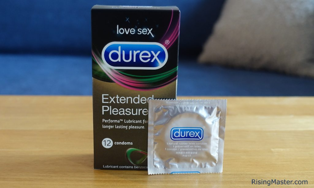 photo of the durex extended pleasures condom