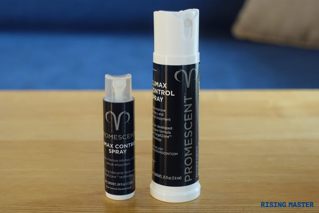 photo of my promescent used in this review