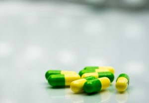 photo of tramadol capsules on a table