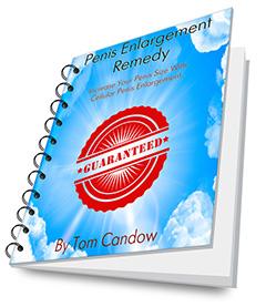 penis enlargement remedy book cover