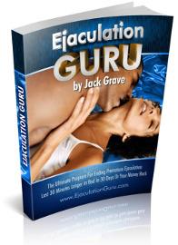 ejaculation guru ebook cover
