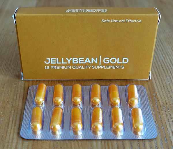 jellybean gold capsules