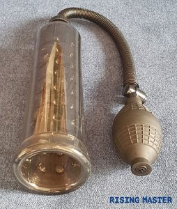 photo of a standard penis pump