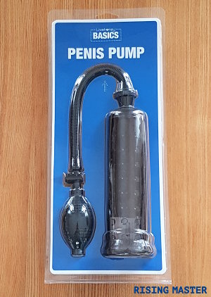 photo of the penis pump in its packaging