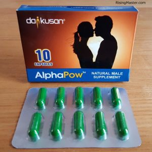 photo of alphapow male supplement