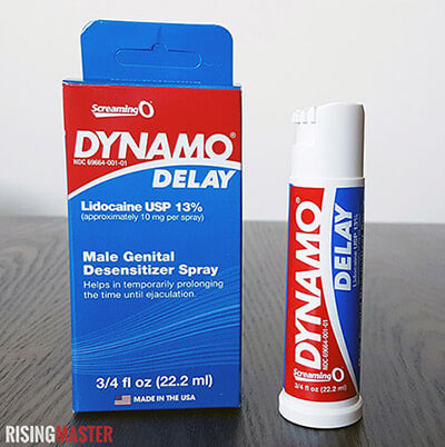 dynamo delay package and one spray bottle